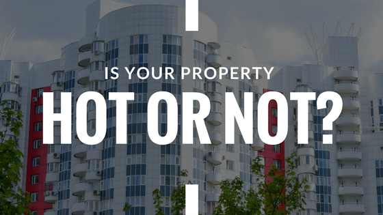 "Blog Header reading ""Is your property hot or not?""- Hot property article"